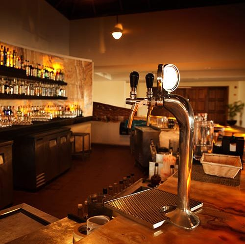 View of a bar